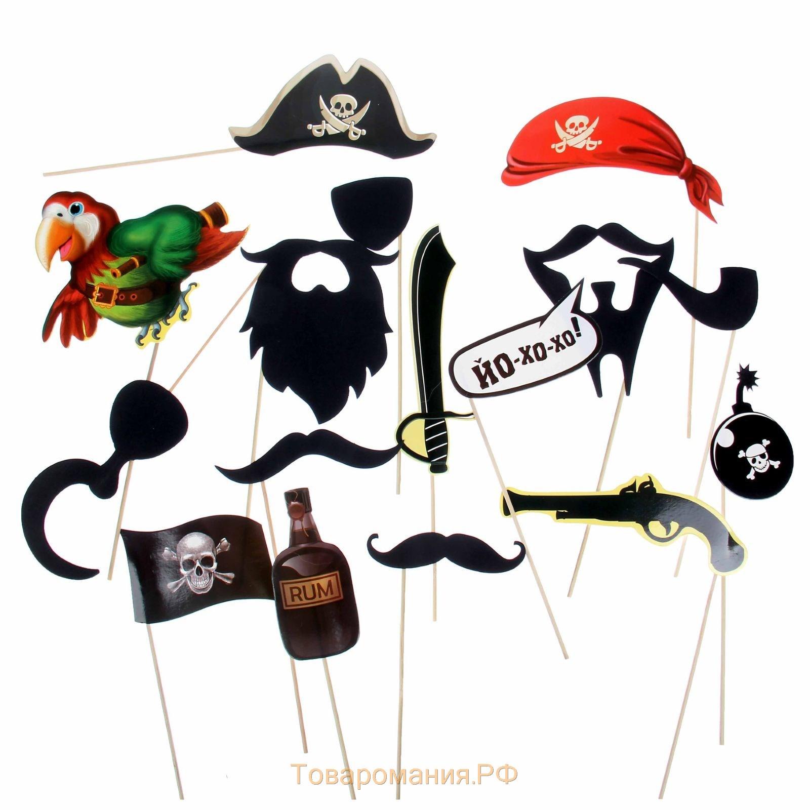 Вечеринка в стиле пиратов Карибского моря: приглашения 96