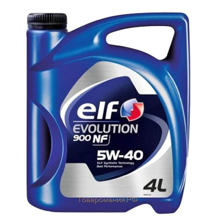 Масло моторное Elf Evolution 900 NF 5W-40, 4 л