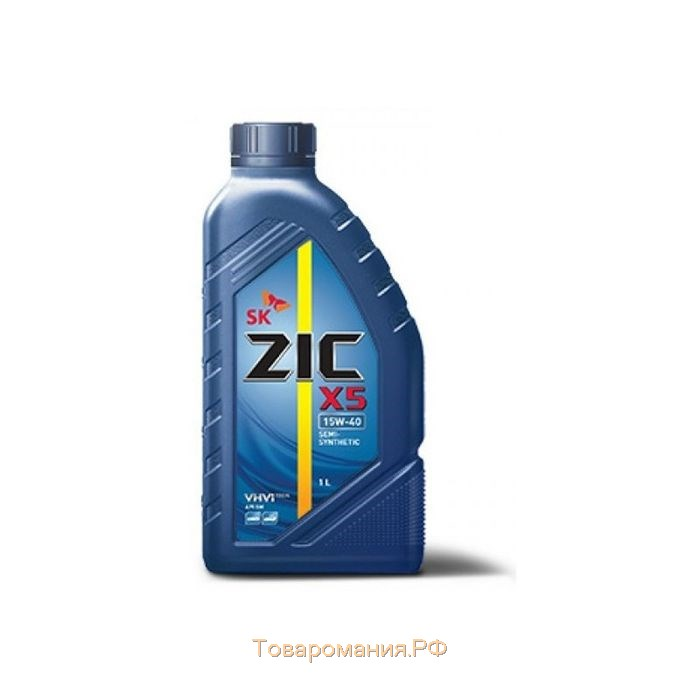 Масло моторное ZIC X5 10W-40, 1 л