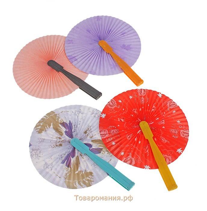 Как сделать круглые веера