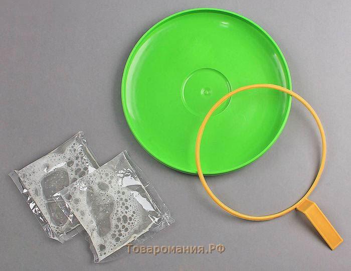 Кольца для мыльных пузырей своим руками