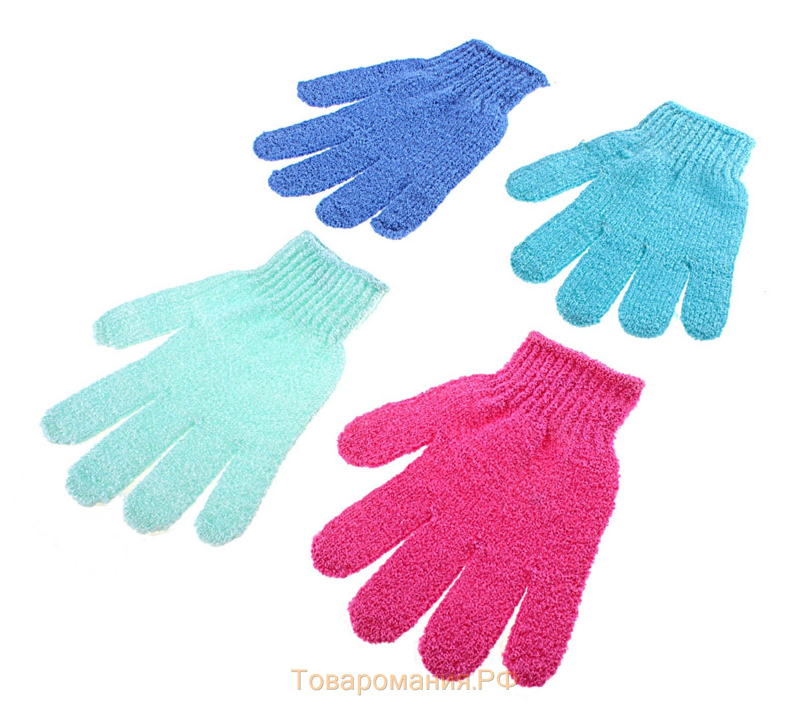Перчатка мочалка 4