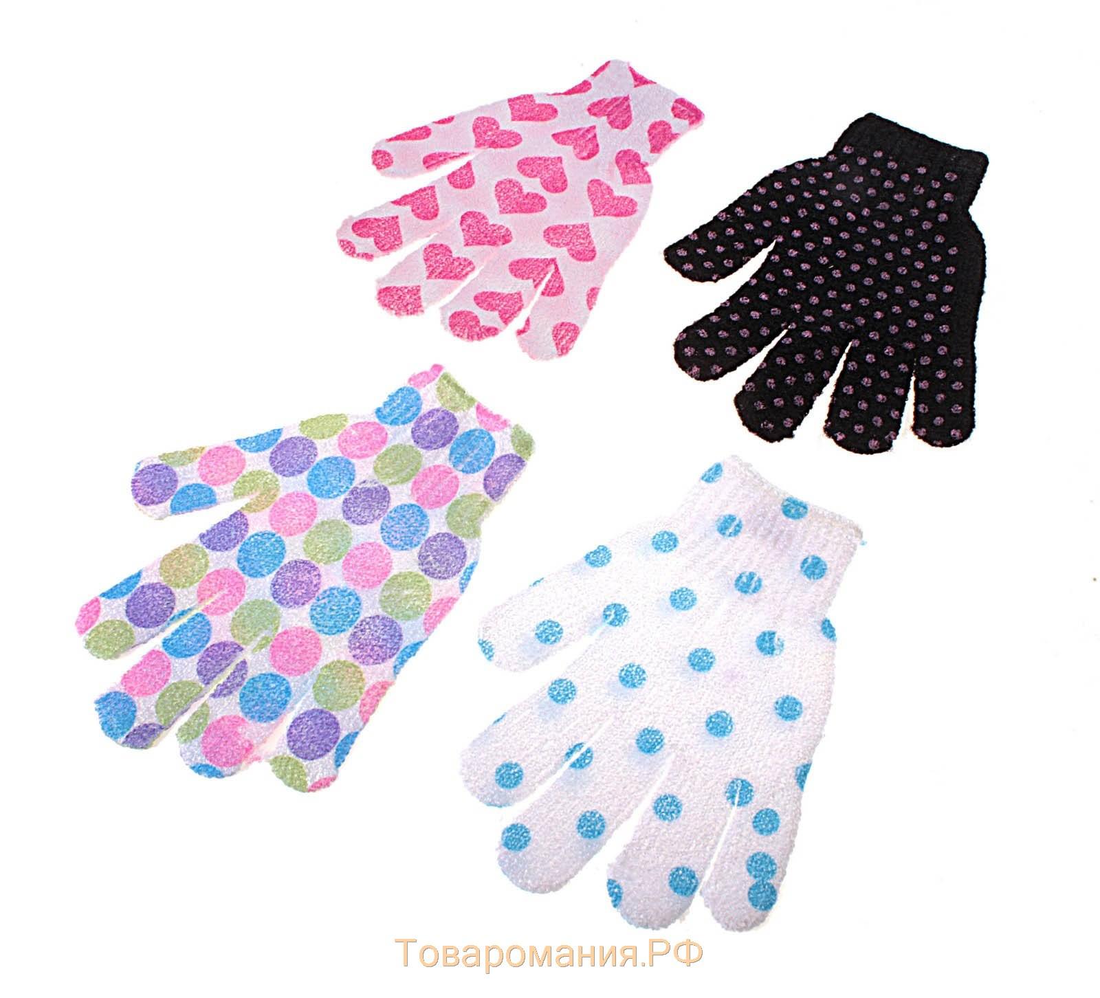 Перчатка мочалка 3