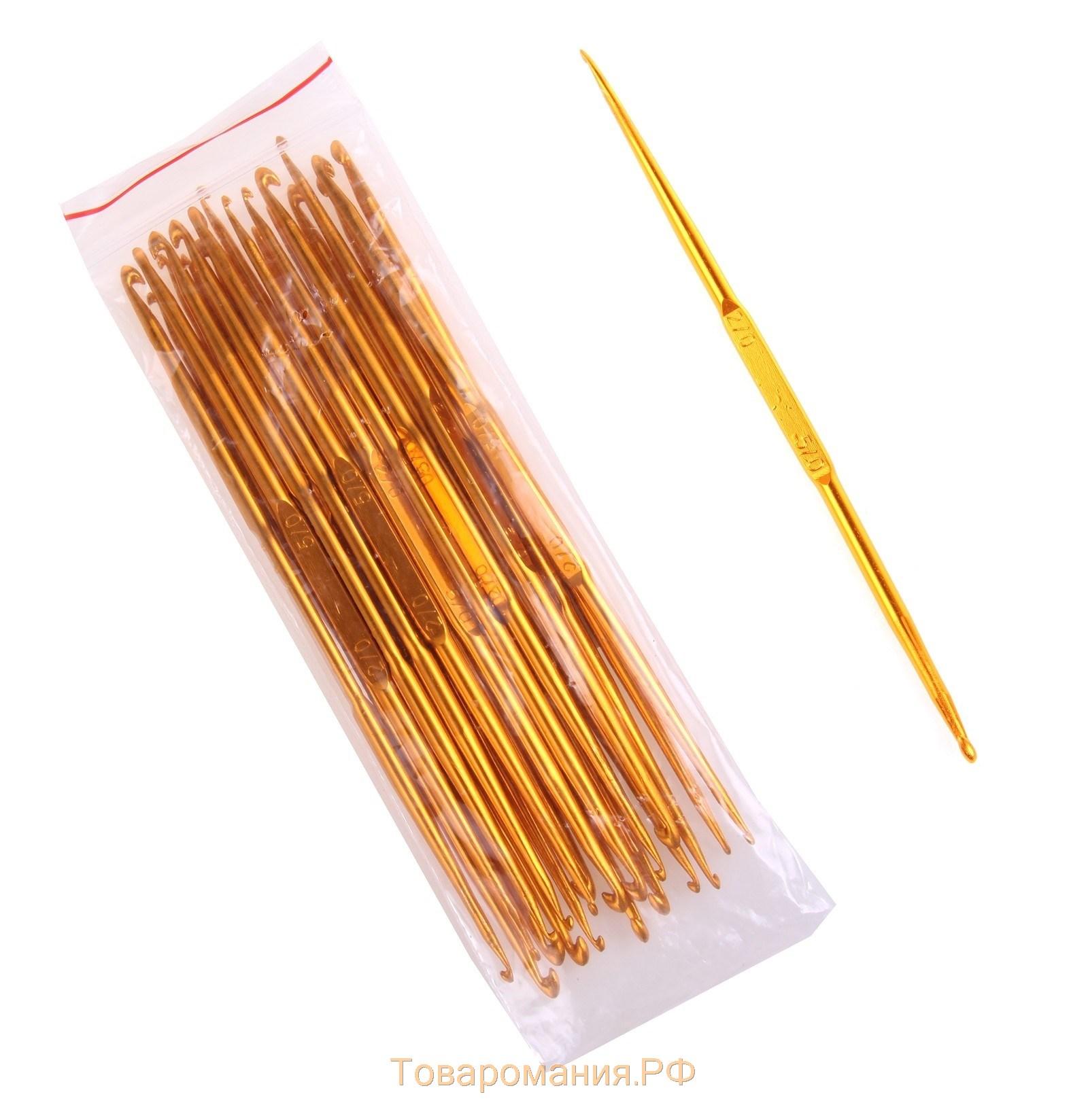 Размеры крючков для вязания фото